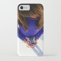 shells iPhone & iPod Cases featuring Shells by Stephanie Stonato