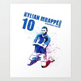 WORLD CUP 2018  FRANCE #blue 10 #2 Art Print