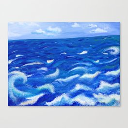 Ever in Motion; Ever the Same Canvas Print