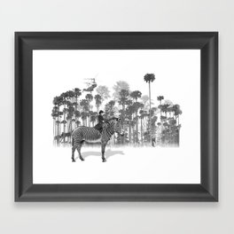Thrill of the Chase Framed Art Print