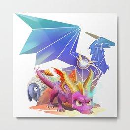 Spyro Reborn Metal Print