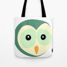 Owl Verde Tote Bag