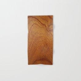 I Feel Woody, Oh So Woody (Wood Grain-Man Cave) Hand & Bath Towel