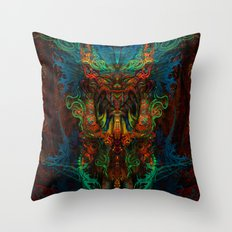 Shaman Throw Pillow