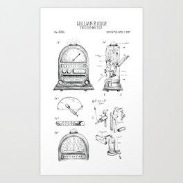 Truth O Meter Art Print