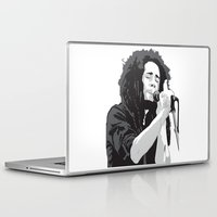 marley Laptop & iPad Skins featuring Marley Music by Mark Lucas