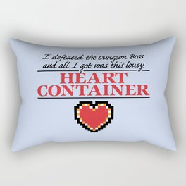 Lousy Heart Container Rectangular Pillow