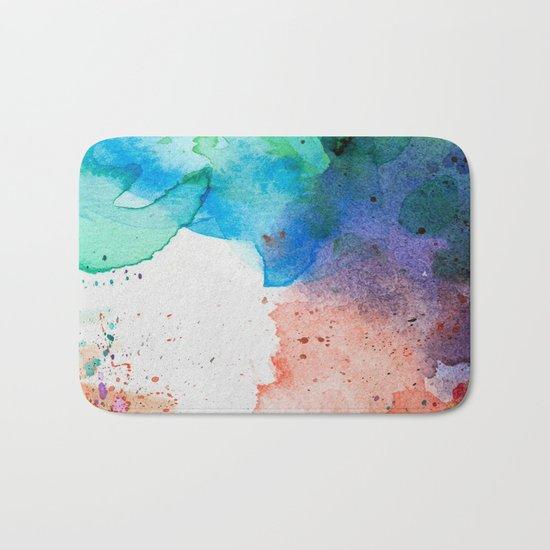 Pastel Color Splash 05 Bath Mat