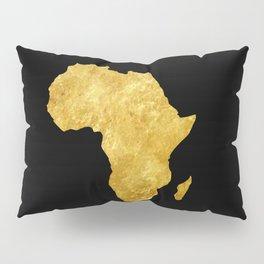 Gold Africa Pillow Sham