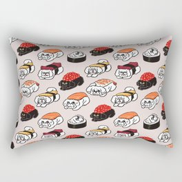 Sushi Bichon Frise Rectangular Pillow