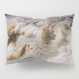 Monster Waves At Pipeline Pillow Sham