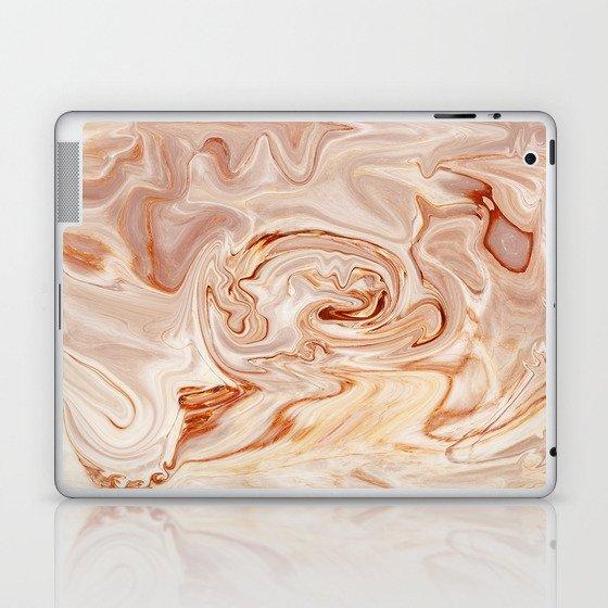 Nude Liquid Marble Laptop & iPad Skin