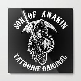 Son of Anakin Metal Print