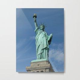 Statue of Liberty - New York City, New York, USA Metal Print