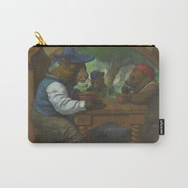 The Three Bears Eating Porridge Carry-All Pouch