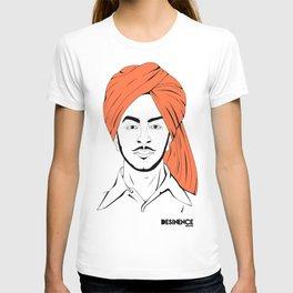 Bhagat Singh #IpledgeOrange T-shirt
