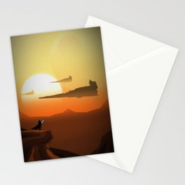 On The Horizon Stationery Cards