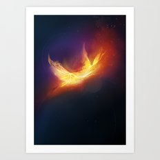 Impulse - rebirth Art Print