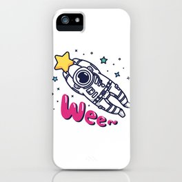 Catach a Shooting Star iPhone Case