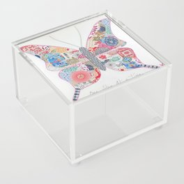 One Step at a Time Acrylic Box