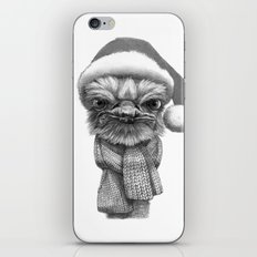 Christmas Ostrich G145 iPhone & iPod Skin