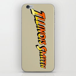 Illinois Smith iPhone Skin