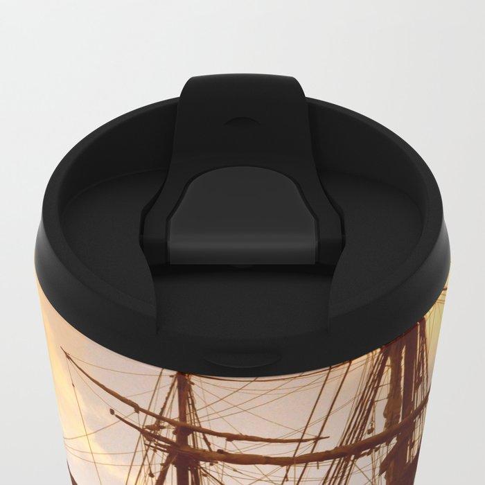 PIRATE SHIP :) Metal Travel Mug