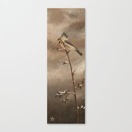 A Lonely Lady Tuft Canvas Print