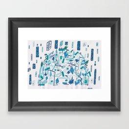 Transparent Age, Something Wild Framed Art Print