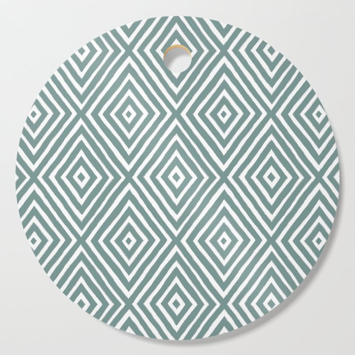 diamond painted-blue Cutting Board
