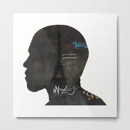 niggas in paris Metal Print