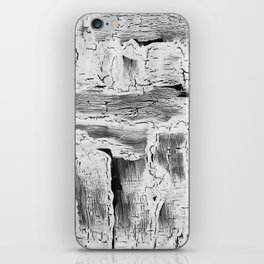Abstract Artwork Greyscale #2 iPhone Skin