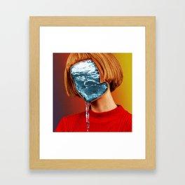OCean Girl Framed Art Print