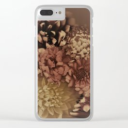 Drenched in Dahlia #1 Clear iPhone Case