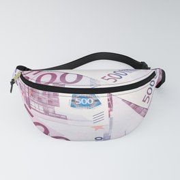 500 Euros bills Fanny Pack