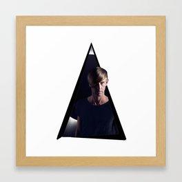 Youtriangle ∆ Richie Hawtin Framed Art Print