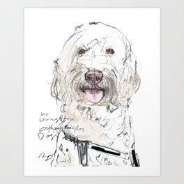 OPD Mr Livingston Art Print