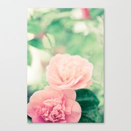 Joie de vivre - floral photography Canvas Print