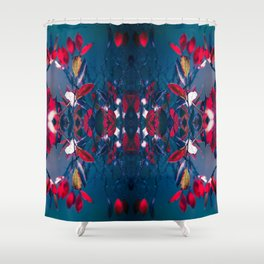 Hojas Shower Curtain