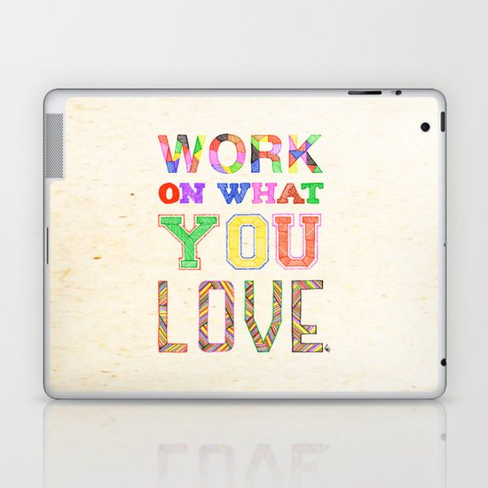 Life & Love Laptop & iPad Skin