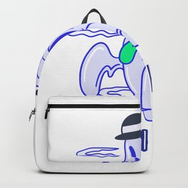 It's SPOOKY TIME Halloween Ghost Backpack