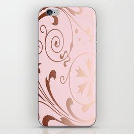 Rose Quartz Gold Komingo iPhone Skin