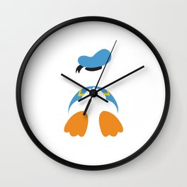 Donald Duck No. 3 Wall Clock