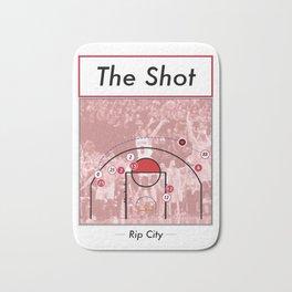 The Shot Series - Damian Lillard Bath Mat