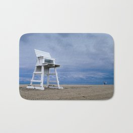 Approaching Storm Coastal Landscape Photograph Bath Mat