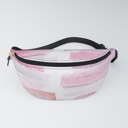 16 | 181101 Watercolour Palette Abstract Art | Lines | Stripes | Fanny Pack