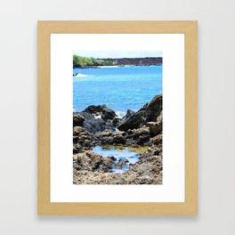 Maui Lava Flow Framed Art Print
