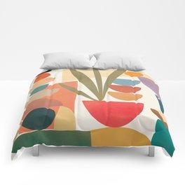 Modern Abstract Art 74 Comforters