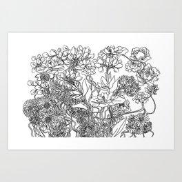 Illustration #3 Art Print