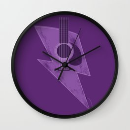Electric - Acoustic Lightning Wall Clock